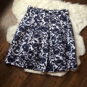 Mario Serrani fit and flare skirt size 12